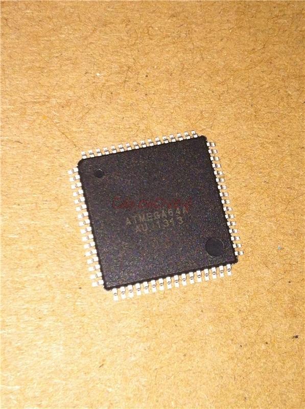 50 unids/lote ATMEGA64A-AUR ATMEGA64A-AU ATMEGA64A ATMEGA64 TQFP-64 en Stock