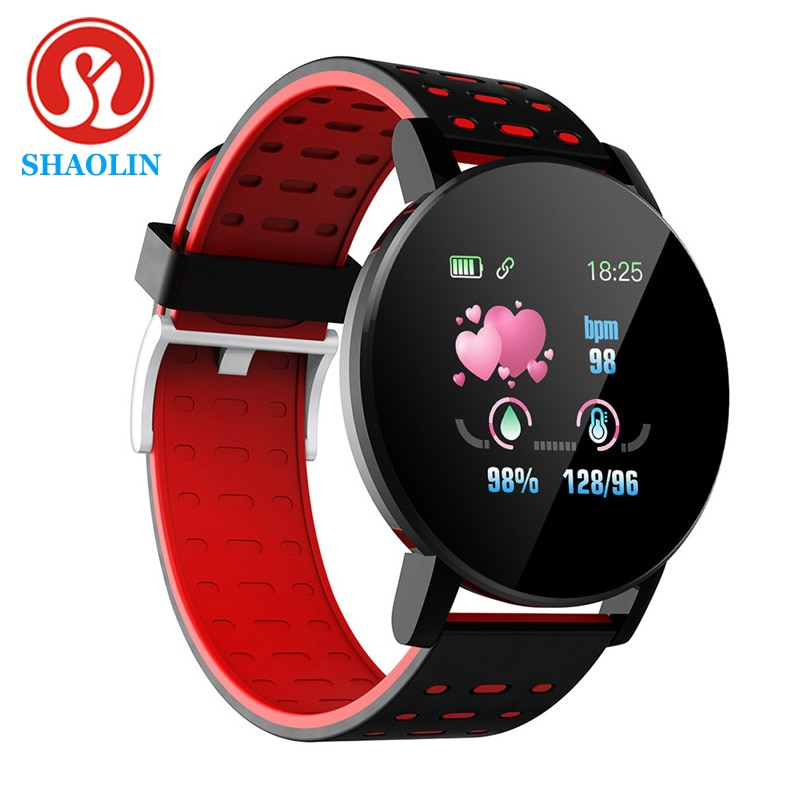 SHAOLIN Smart Watch Bluetooth Men's Watch Smartwatch Women Sports Watches Blood Pressure Smart Band Fitness Tracker Smartband