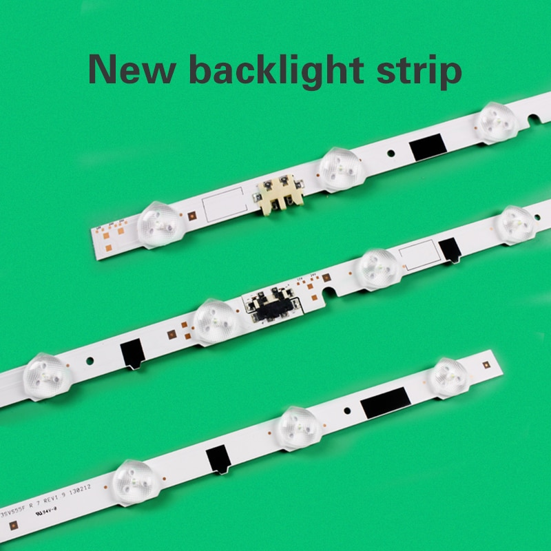 20pcs/set backlight strips are suitable for Samsung UA55F6300AJXXR UA55F6400AJXXR UA55F6800AJ HG55AB690QJXXR enlarge