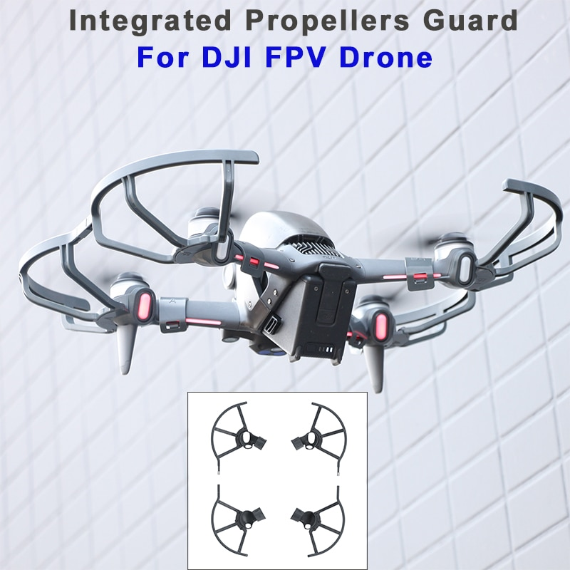 DJI FPV Propeller Guards Integrated Propellers Protector Shielding Rings For DJI FPV Drone Accessories