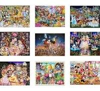 5D BRICOLAGE Disney Mickey Minnie Collection Diamant Peinture Pleine Carre Rond Perceuse Broderie Point De Croix Kits Mosaique Decor A La Maison