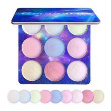 1 pièces fard à paupières maquillage cosmétiques Palette miroitant imperméable à leau longue durée maquillage Pigments mat ombre à paupières mode nouveau TSLM2