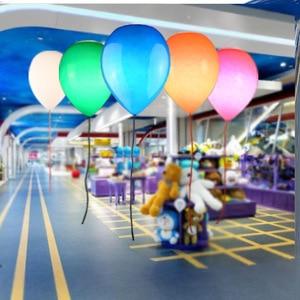 Creative Kindergarten Children Room Bedroom Balloon Lamp Playground Balloon Ceiling Light Glass Ceiling Lamp for Kid's