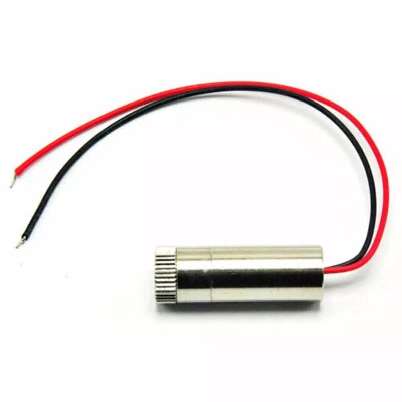 Регулируемый фокусируемый 30 мВт 650 нм красный линия луч лазер диод Moudle w драйвер In1235