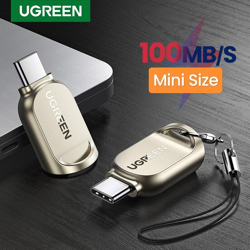 UGREEN USB C Card Reader TF Micro SD Type C 3.1 OTG Memory Card Reader Adapter for Samsung Huawei MacBook Micro SD Card Reader