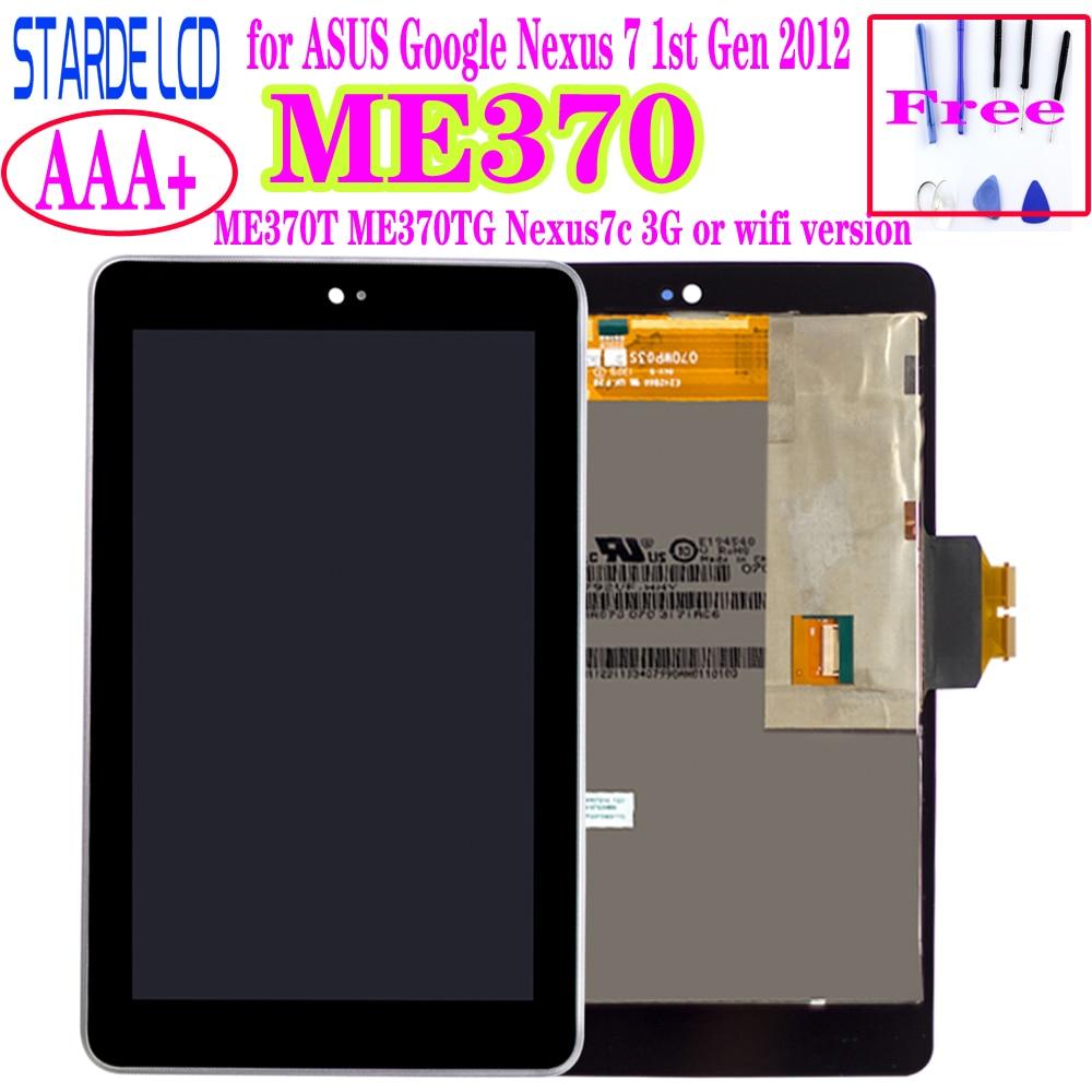 STARDE ME370 LCD para ASUS Google Nexus 7 1st Gen 2012 ME370T...