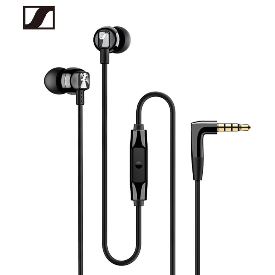 Проводные стереонаушники Sennheiser CX300S с чистыми басами, спортивные наушники-вкладыши с шумоподавлением, наушники для iPhone/Samsung/XiaoMi
