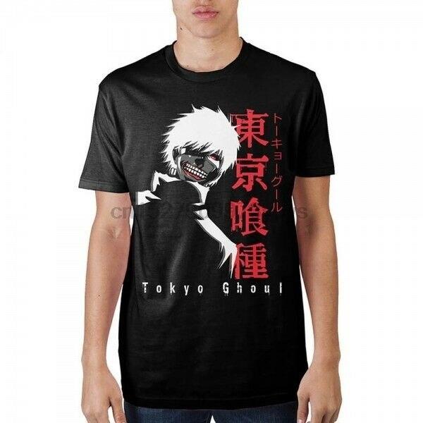 Legit Tokyo Ghoul Ken Kaneki Mask Centipede Battle Suit Anime T-Shirt TS3AFN