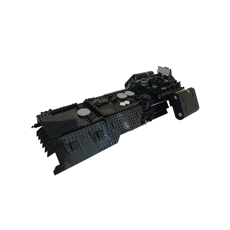 MOC Night Buzzard Transport Ship Building Blocks Set Refit Spaceship For Space Wars Vehicle Model Toy For Children Brithday Gift moc constrictor ii playable interdictor cruiser space battle high tech military transport model building blocks toy for children