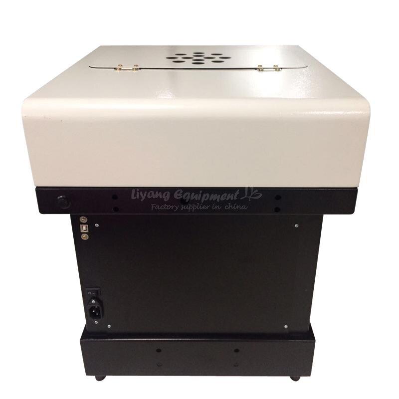Cor cheia ly cafemaker pro impressora de café milktea bolo impressora sobremesa impressora plana 220 v 110 v pacote padrão