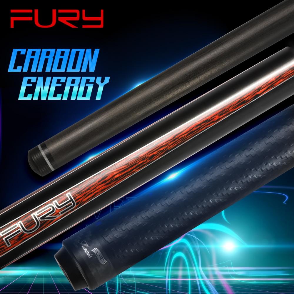 FURY CFP البلياردو الأسود التكنولوجيا تجمع جديلة 12.5 مللي متر/12.8 مللي متر SS Kamui تلميح PAS ألياف الكربون رمح المهنية لوحة عصا