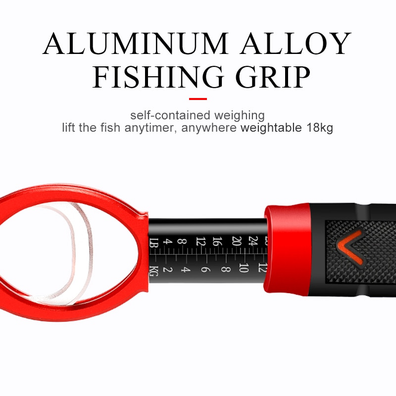 Fishing Grip Fishing Pliers  Set Fishing Tackle Hook Recover Cutter Line Split Ring High Quality Fishing Tool Hot Aluminum Alloy enlarge