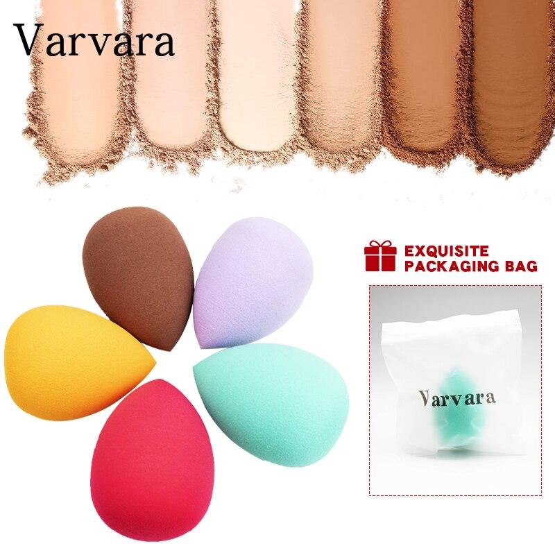 Varvara Water Drop Shape Cosmetic Puff Makeup Sponge Blending Face Liquid Foundation Cream Make Up Cosmetic Powder Puff 1pcs