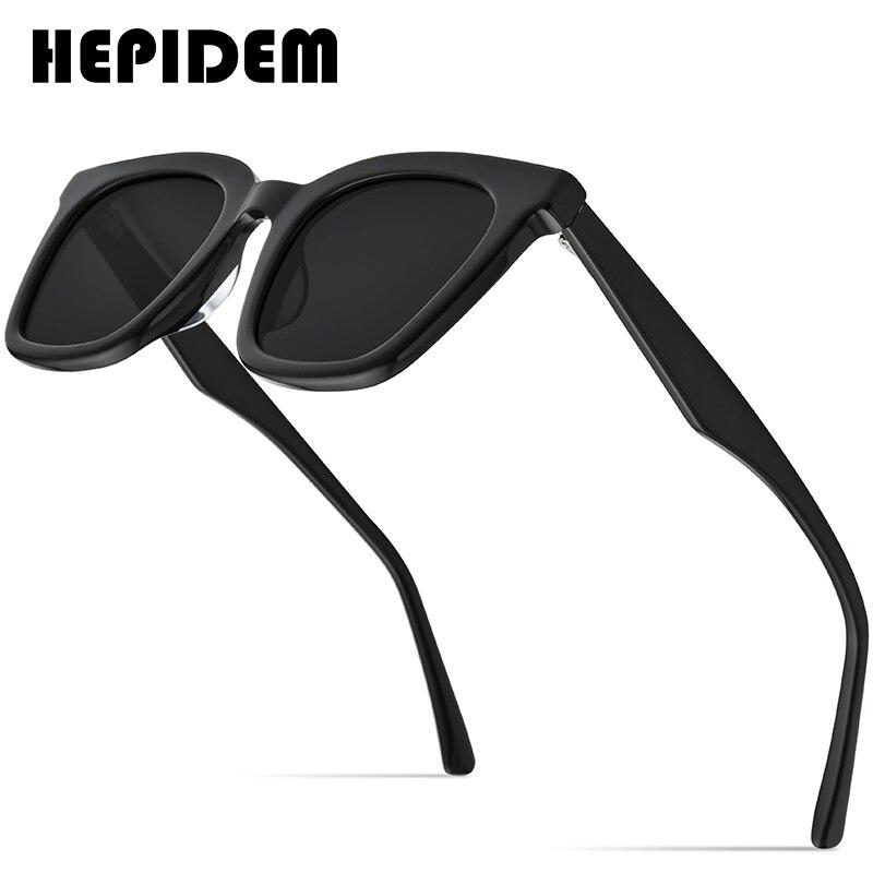 HEPIDEM نظارات شمسية الرجال الرجعية لطيف 2021 موضة جديدة الكورية مربع نظارات شمسية للنساء خمر معكوسة جنرال موتورز موماتي