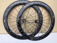 3k twill weave road bike carbon wheels clincher 60mm depth 25mm width bob bicycle carbon wheelset
