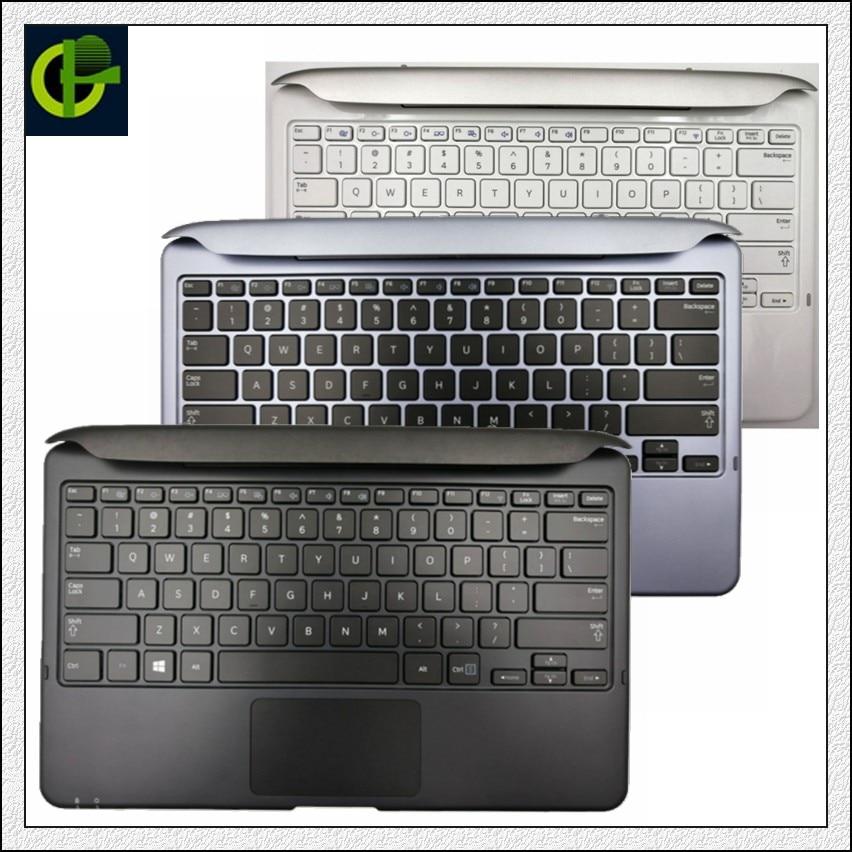 قاعدة إرساء لوحة مفاتيح إنجليزية جديدة لهواتف سامسونج 700T XE700T1C XQ700T1C 500T1C 700T1C XE500T1C XQ500T1C قاعدة غطاء علوية