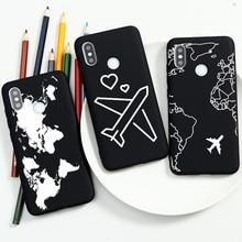 Aircraft Case For Xiaomi Redmi Mi A3 Note 4X 5A 5 6 7 10 9 Pro Max 8T 8A K20 K30 A3 9 8 Lite Pro SE CC9 CC9e Soft TPU Cover Case