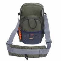 new small fly fishing chest bag lightweight waist pack fishing tackle storage bags for men and women