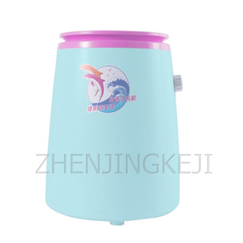 Small Mini Washing Machine 400W Monocular Semi-automatic Baby Clothes Sock Underwear Portable Home Washer Electrical Appliances fps180a ac220v general washing machine double inlet water valve home electrical appliance workmanship washer replacement parts