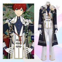 game ensemble stars prince amagi hiiro cosplay costume fancy suit coat vest shirt pants halloween carnival uniforms custom made