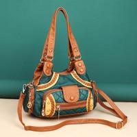 Retro Soft Leather Handbags Women Shoulder Bags for Women 2021 Designer New Underarm Bags Concise Female Luxury Crossbody Bag