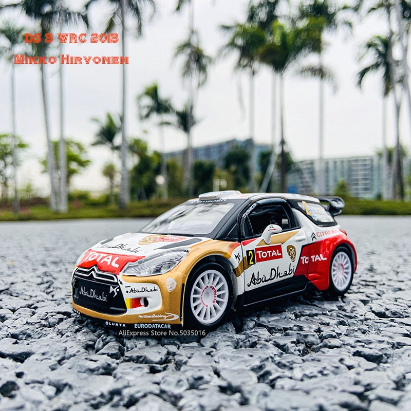Bburago 1:32 2013 CITTROEN номера #2 DS WRC DTM WTCC ралли гоночный сплав модель автомобиля Коллекционирование подарков