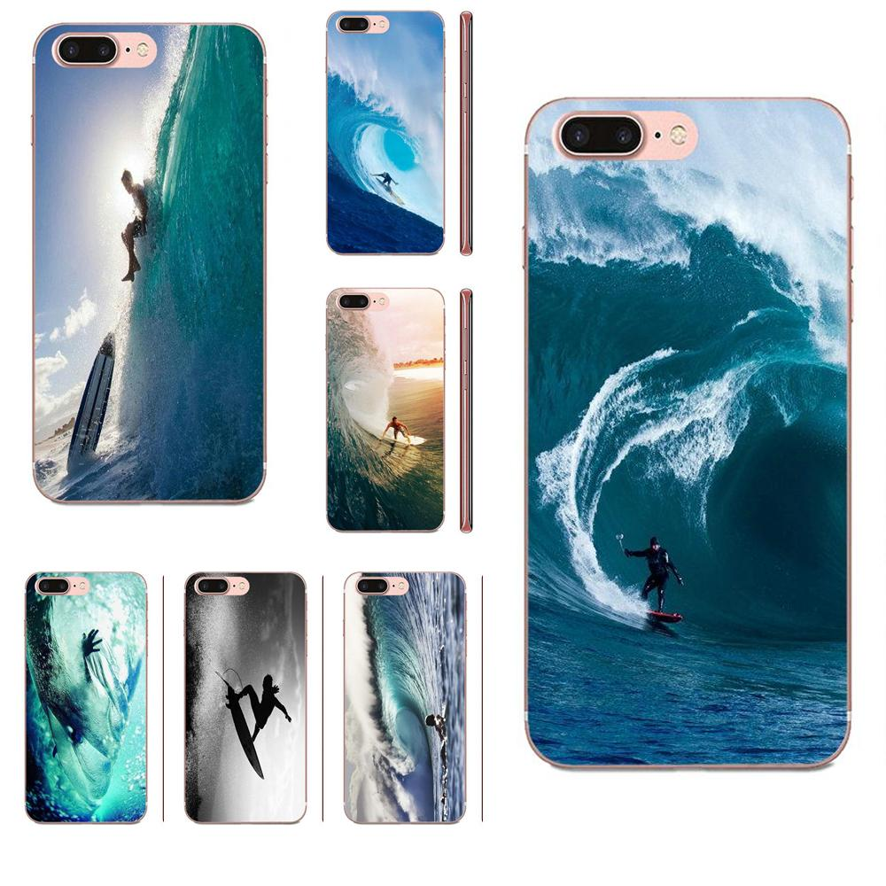 Surf Tumblr suave fundas de TPU de la piel para Xiaomi CC9 CC9E Mi 3 4 4i 5 5S 6 6X 8 9 SE jugar Plus Pro Lite A1 mezclar 2 Nota 3
