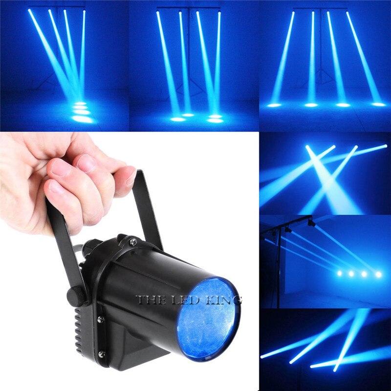 Mini Led-strahler 12W Beleuchtung DJ Bühne Spot Wirkung Led Pinspot Licht Scheinwerfer Für Discos Party Club Ktv Ball lampe FÜHRTE STRAHL