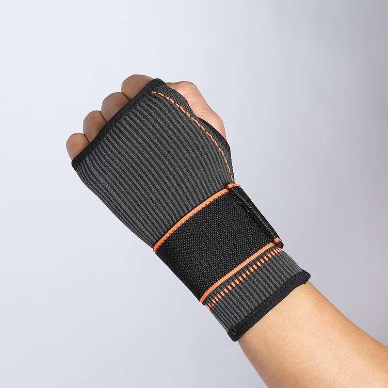 1 шт. регулируемый нейлоновый браслет с поддержкой запястья для мужчин, компрессионный кистевой бандаж для тенниса, Перчатки для фитнеса, во...