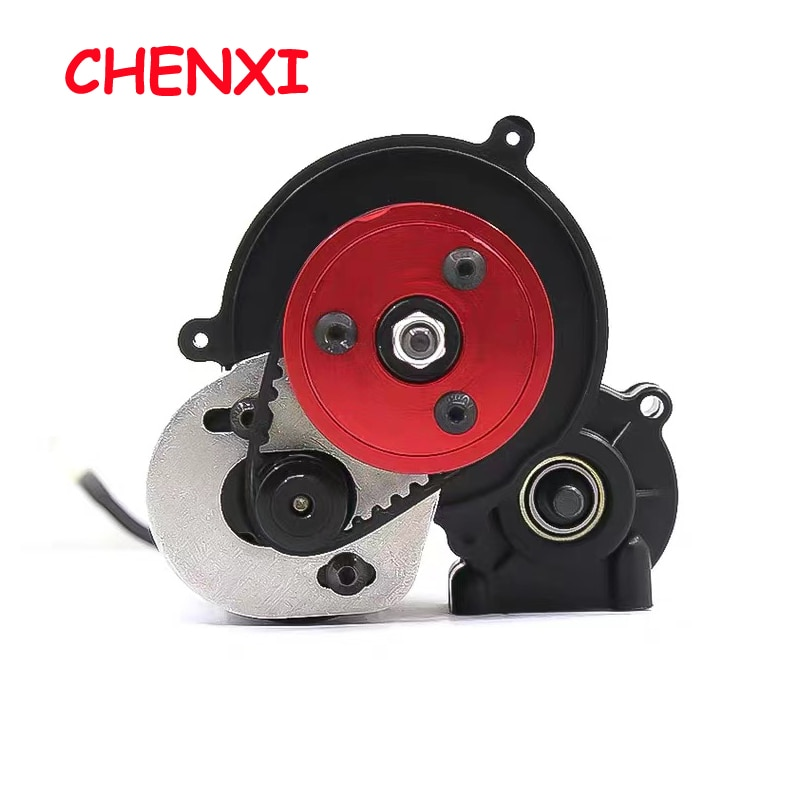 3.2/5.0 Belt Drive Transmission Gears System for 1/10 RC Car Crawler Axial SCX10 & SCX10 II 90046 VS4-10 Upgrade DIY Parts enlarge