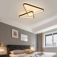 nordic decor led lights for bedroom lamp lighting with home kitchen living room decoration black chandeliers fixtures sedeluz