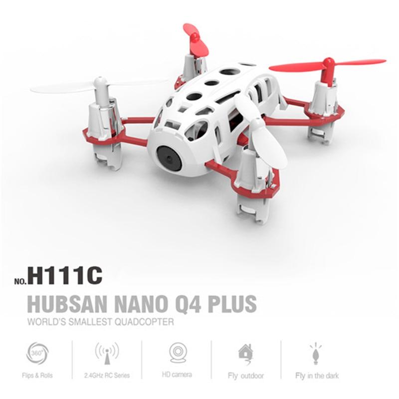Hubsan h111c q4 plus com 720p hd câmera 3d flips rc quadcopter rtf