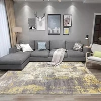fashionable modern nordic mill white old gray abstract ink wash living room bedroom kitchen bedside carpet cover rugs cover