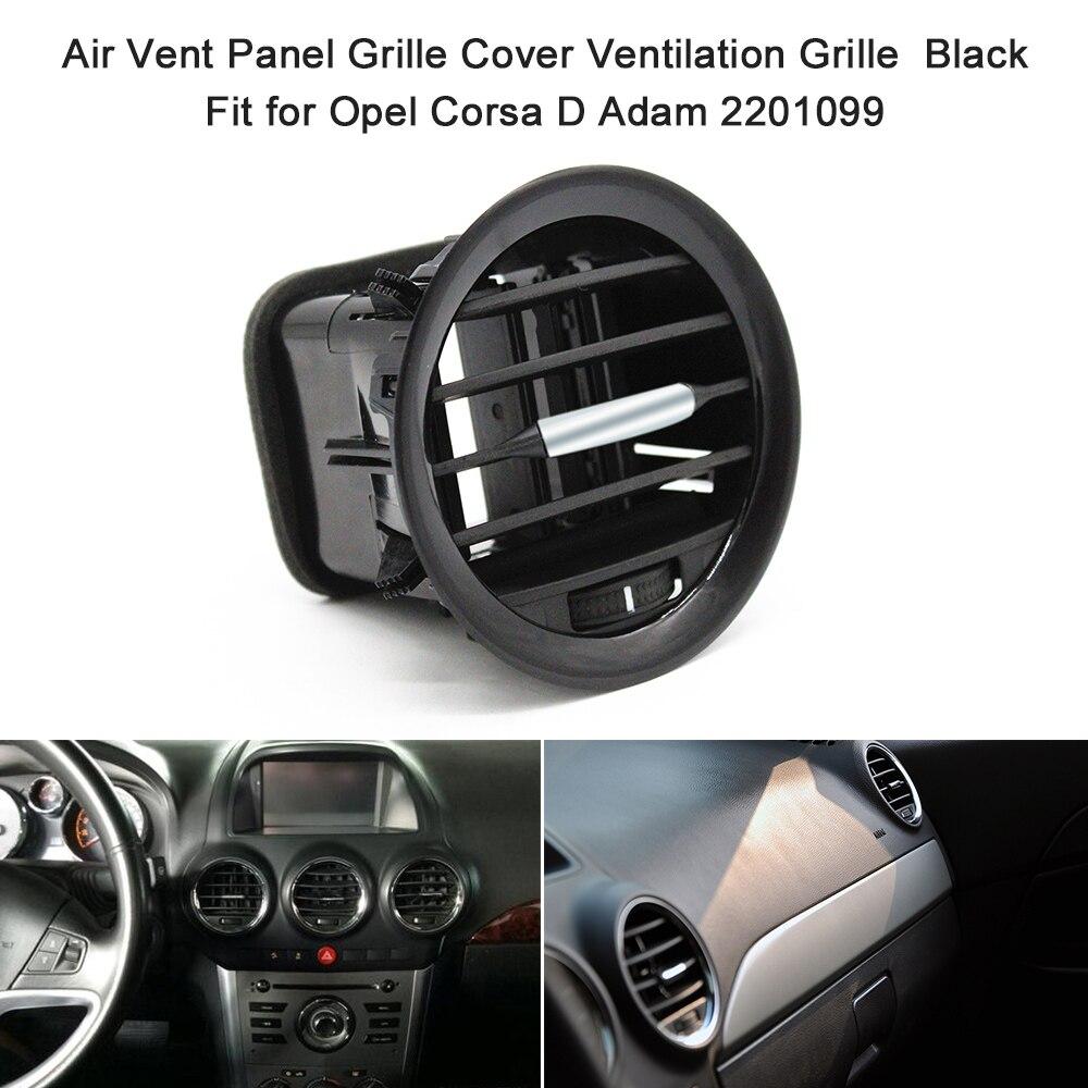 Panneau daération pour voiture, accessoires de Grille pour Vauxhall ADAM / CORSA D (2006 - 2014)