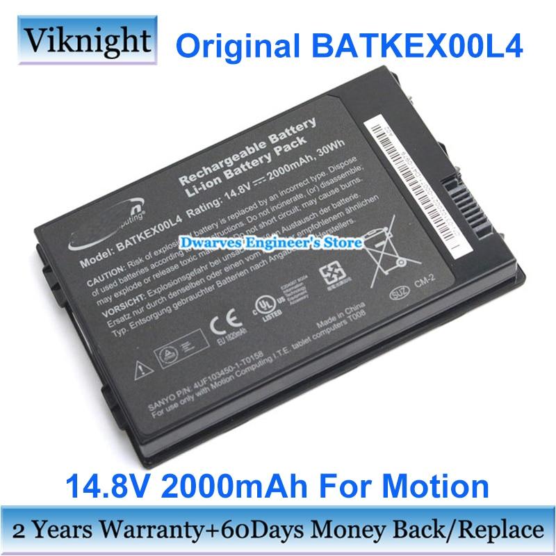 بطارية أصلية BATKEX00L4 للحوسبة المتحركة I.T.E. اللوحي أجهزة الكمبيوتر T008 J3400 J3500 J3600 4UF103450-1-T0158 14.8V 2000mAh