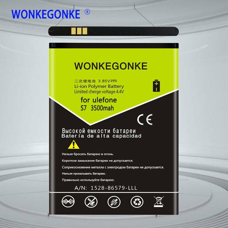 WONKEGONKE para baterías de teléfono móvil ulefone S7 Bateria