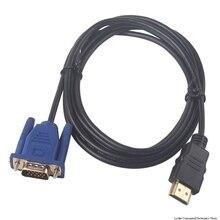 1/1. Câble HDMI 8/3/5M HDMI vers VGA HD avec câble adaptateur Audio câble HDMI vers VGA livraison directe