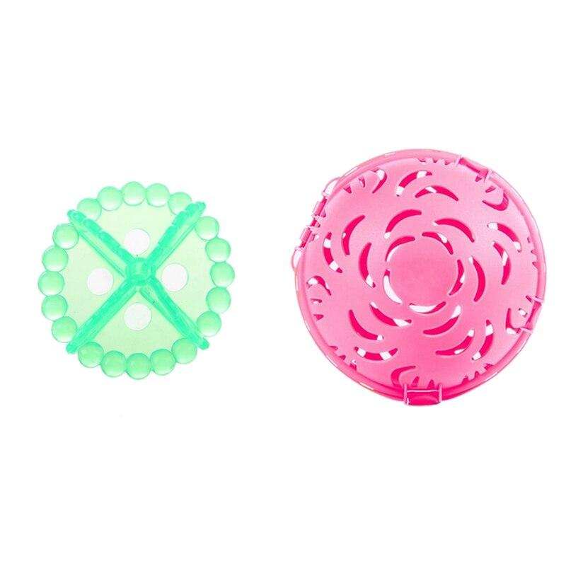 SZS caliente 5 uds bola de lavado 4 Uds reutilizable lavado de ropa bolas secadoras bola de lavado y 1 Uds bola protector de sujetador lavadora Doble