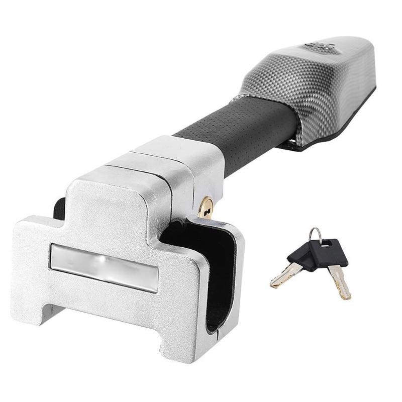 Universal security car steering wheel lock anti-theft security alarm retractable lock anti-theft pro