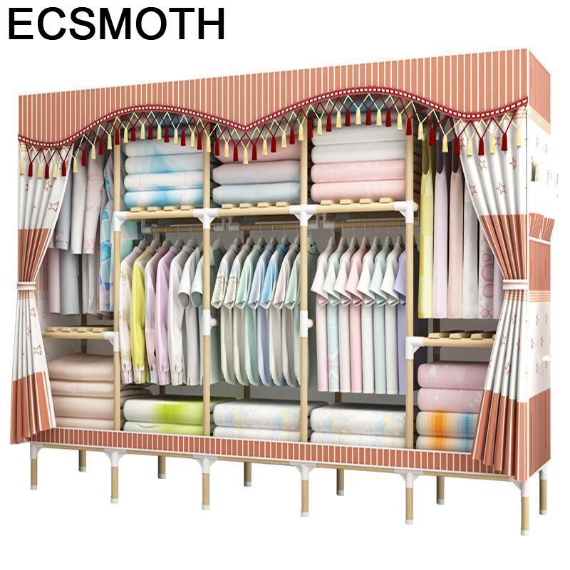 دولاب ملابس من Penderie Chambre Rangement خزانة ملابس نسائية خزانة ملابس ملابس