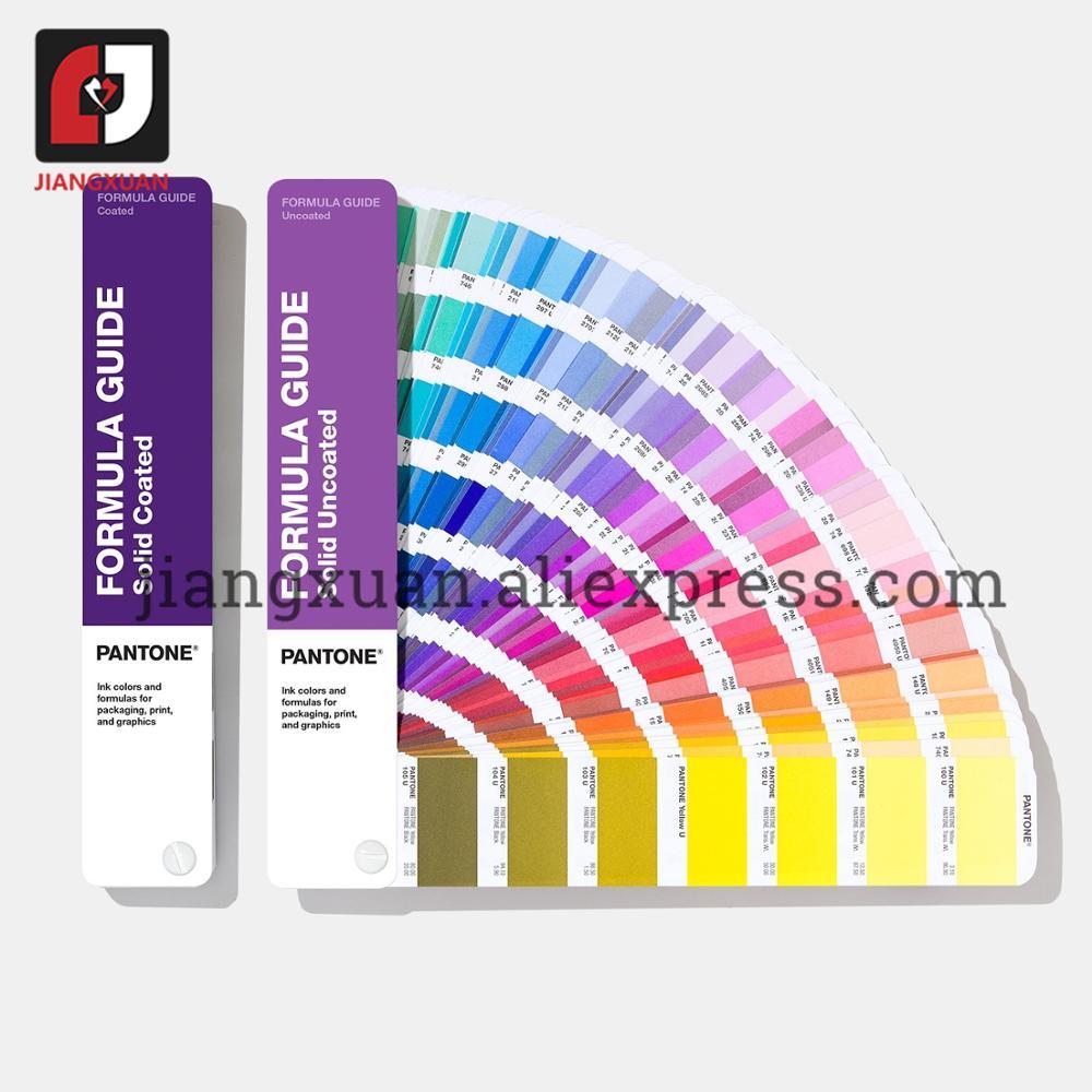 بانتون GP1601A دليل الصيغة المغلفة غير المغلفة تصور التواصل اللون للرسومات والطباعة