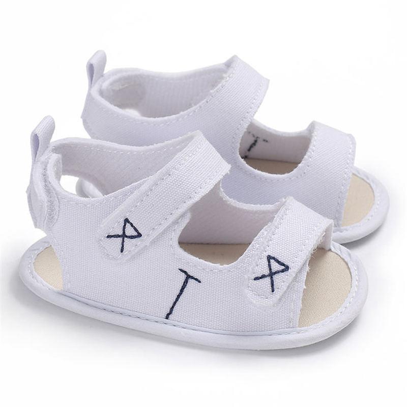 Sandalias de lona antideslizantes para niños y bebés de verano, suela suave al aire libre para caminar, zapatos casuales para niños y bebés, zapatos para primeros pasos
