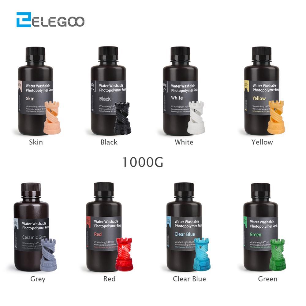 elegoo-acqua-lavabile-3d-stampante-resina-lcd-uv-di-polimerizzazione-della-resina-405nm-standard-fotopolimero-resina-per-lcd-3d-stampa-1000ml-8-colori