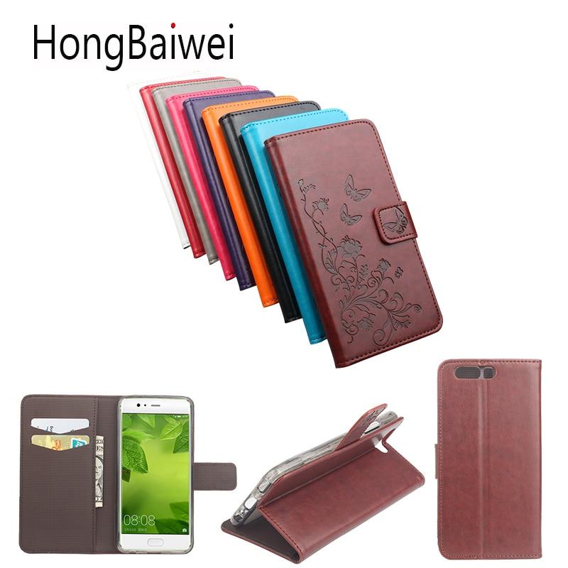 Funda de cuero de lujo para Huawei P10 Plus, funda con estampado 3D de flores para Huawei G630 Y360 625, funda para teléfono móvil