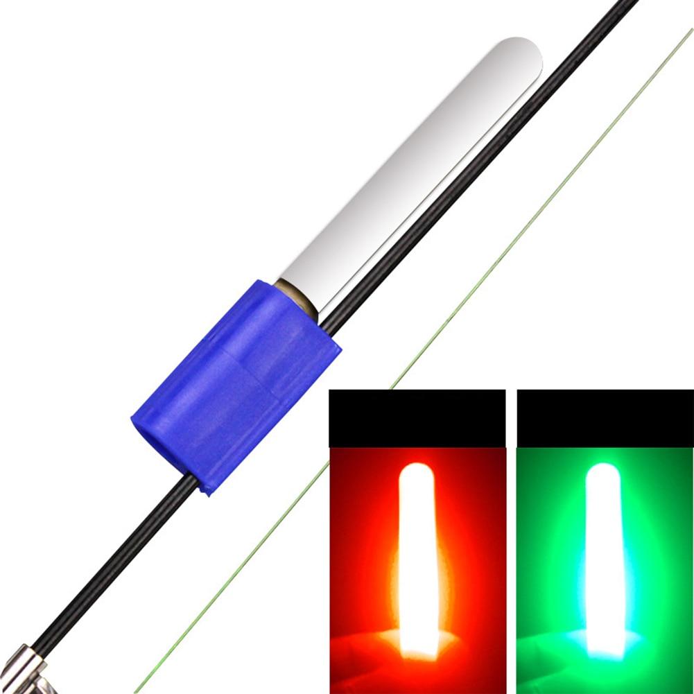 Caña de pescar de mar, barra de luz Led electrónica, extraíble, impermeable, luminosa, palo, lámpara duradera y ligera