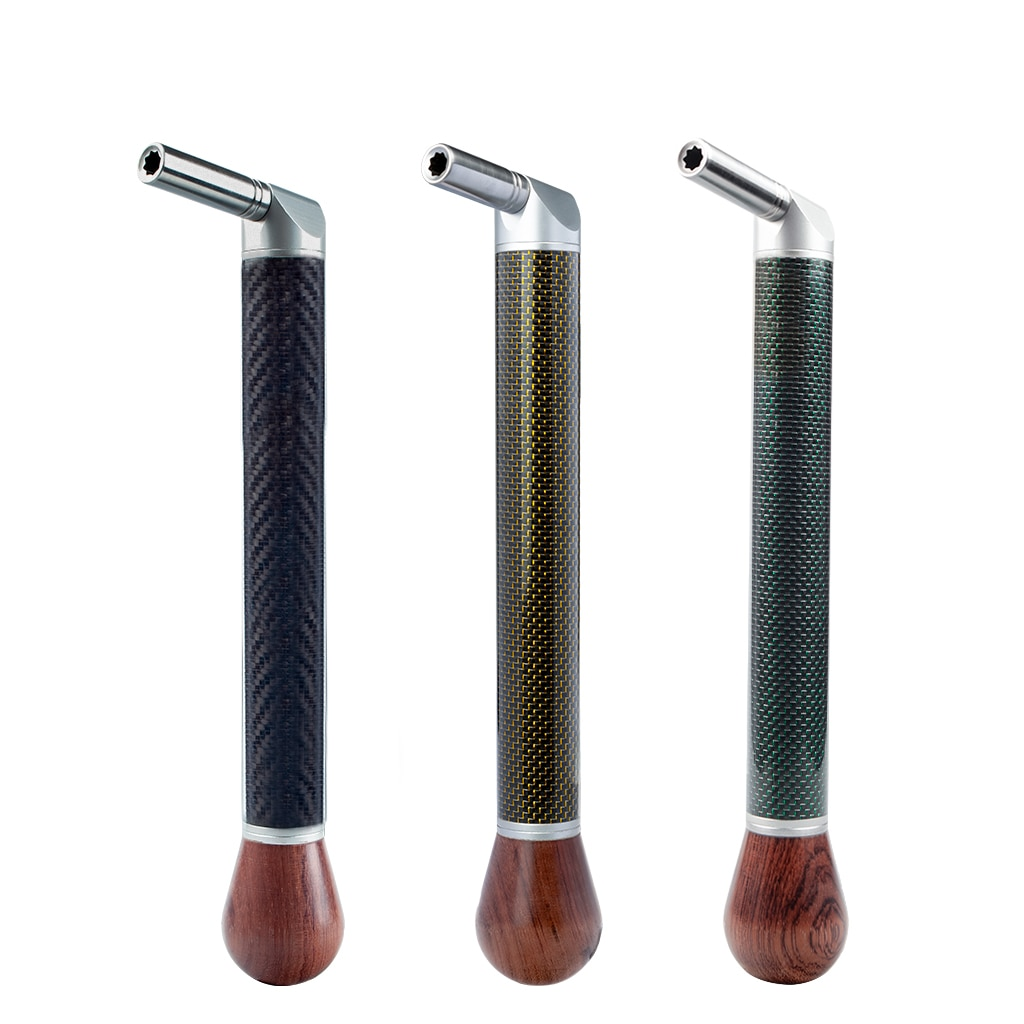 Piano Tuning Wrench Stainless Steel Hammer Head Carbon Fiber Handle Rosewood Ball End Piano Tools For Upright Piano enlarge