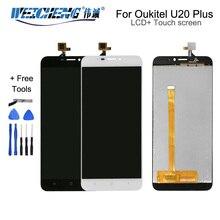 WEICHENG pour Oukitel U20 Plus écran LCD + écran tactile numériseur assemblée pièces de réparation pour u20 plus lcd + outils gratuits