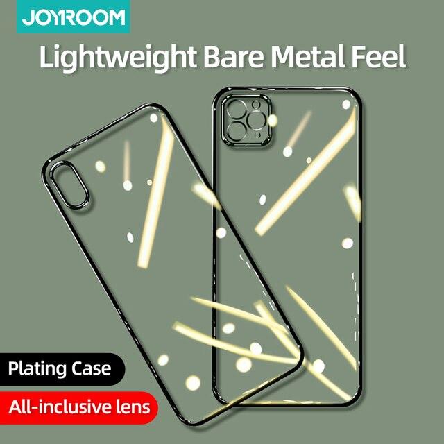 Прозрачный чехол для телефона iPhone 12 Pro Max, Ультратонкий Мягкий силиконовый чехол из ТПУ для iPhone 12 mini 12 Pro Max Joyroom