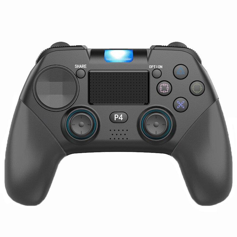 Controlador inalámbrico PS4 Bluetooth 4,0 Gamepad controlador inalámbrico Pc Joystick con vibración Touchpad Gamepad multifunción