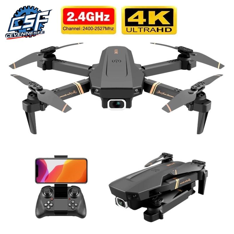 Dron teledirigido 4k HD, cámara profesional gran angular, 4k, WIFI, vídeo en...